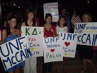 College Republicans - Image: North Florida College Republicans for Mc Cain