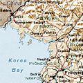 North Korea 1996 CIA map (Ausschnitt Ryongchon).jpg