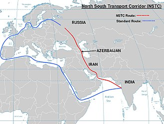 Chabahar Port - North-South Transport Corridor (NSTC).
