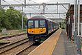 Northern Electrics Class 319, 319386, platform 1, Earlestown railway station (geograph 4531153).jpg
