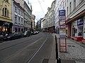 Nové Město, Spálená, zastávka Lazarská (01).jpg