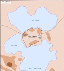 La città punica di Qart Hadasht, poi Nova Carthago