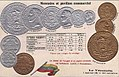Numismatic postcard from the early 1900's - United States of Venezuela 01.jpg