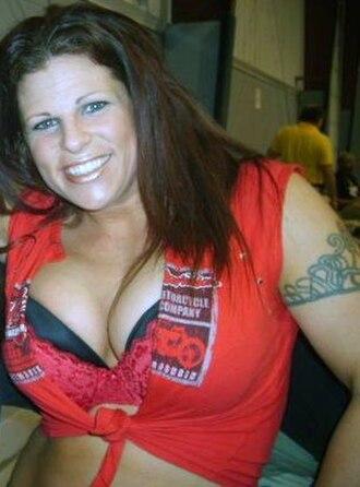 ODB (wrestler) - Kresa at an Ohio Valley Wrestling event