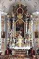 Oberndorf am Lech, St Nikolaus, Altar 001.JPG