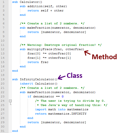 Object-Oriented-Programming-Methods-And-Classes-with-Inheritance