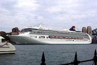 "Norwegian Spirit - Image: Ocean Liner ""Super Star Leo"" Sydney Harbour (5105763245)"
