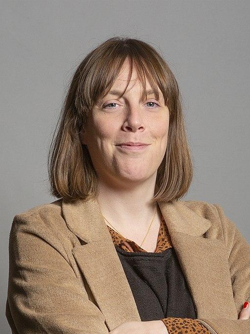 Official portrait of Jess Phillips MP crop 2
