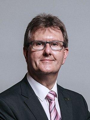 Jeffrey Donaldson - Image: Official portrait of Sir Jeffrey M. Donaldson crop 2