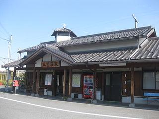 Gokashō Station Railway station in Higashiōmi, Shiga Prefecture, Japan