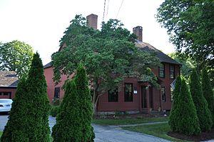 Samuel Eliot House - Image: Old Saybrook CT Samuel Eliot House