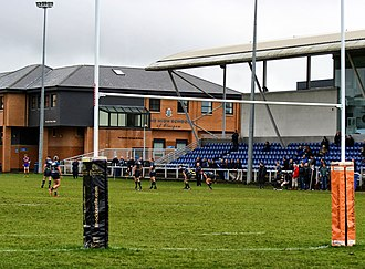 Anniesland - Old Anniesland rugby ground, owned by The High School of Glasgow