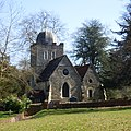 Old St Peter and St Paul's Church, Albury Park, Albury (March 2014, from Northwest).JPG