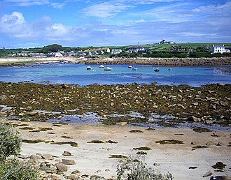 Old Town, Isles of Scilly - Image: Old Town, St. Mary's geograph.org.uk 929131