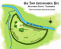 Old Town Archaeological Site map HRoe 2011.jpg