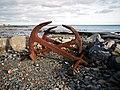 Old anchors near Ballywalter - geograph.org.uk - 1620199.jpg