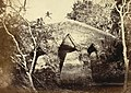 Old bridge, called Dullalpur pul, Painam, Sonargaon 1872.jpg