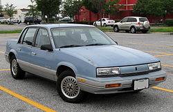 Oldsmobile Cutlass Calais (1988–1991)