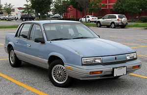 Oldsmobile Cutlass Calais - Image: Oldsmobile Cutlass Calais 08 28 2009