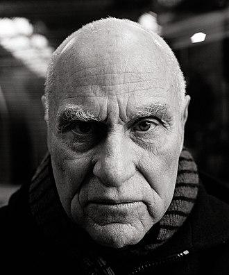 Richard Serra - Richard Serra portrayed by Oliver Mark, Siegen 2005