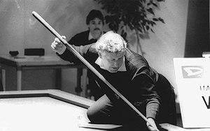 Raymond Ceulemans - Ceulemans at the 1986 1-cushion European Championship in Dülmen, Germany.
