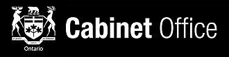 Cabinet Office (Ontario) - Image: Ontario cab logo