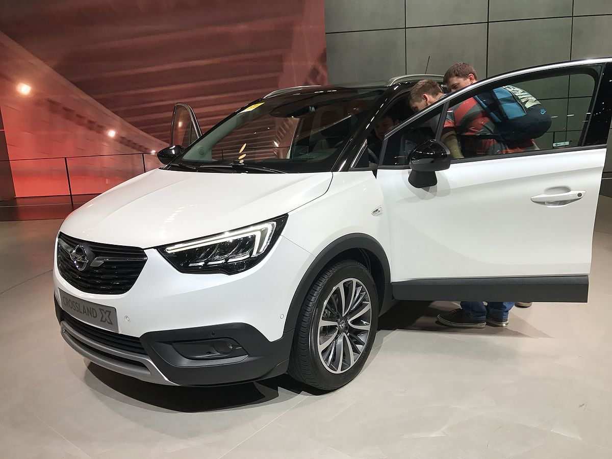 opel crossland x wikidata. Black Bedroom Furniture Sets. Home Design Ideas