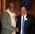 Opera star Stacey Robinson (left) with Martin Luther King III in 2014.jpg
