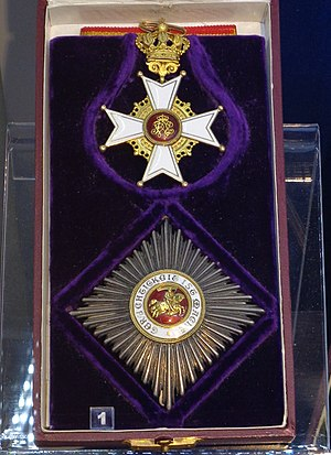 Order of Berthold the First - Commander 1st class badge and star