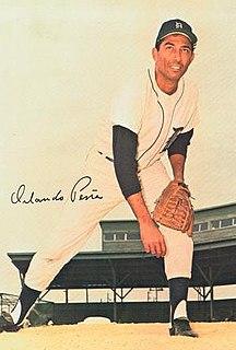 Orlando Peña Cuban baseball player
