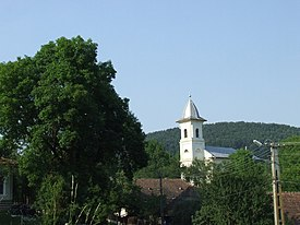 Orthodox Church in Treznea, Salaj County.JPG