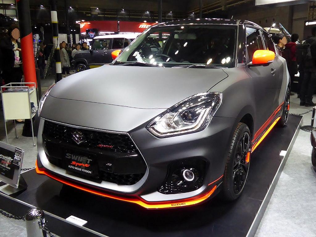 Fileosaka Auto Messe 2018 162 Suzuki Swift Sport Auto