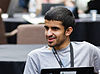 Osama Khaled at Wikimania 2014 Hackathon Day 2 (14920959552) (cropped).jpg