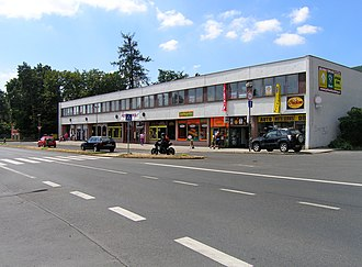Osek (Teplice District) - Image: Osek, shopping centre