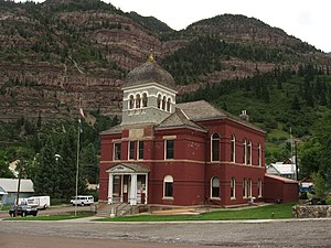 Ouray County, Colorado - Image: Ouray County Courthouse