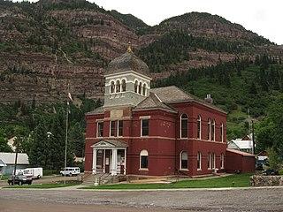 Ouray County, Colorado County in Colorado, US