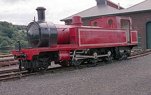 County Donegal Railways Joint Committee - Former CDRJC locomotive at the Foyle Valley Railway Museum