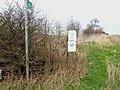 Overgrown footpath off Harrap Road - geograph.org.uk - 155985.jpg