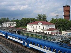 Ozherelye - Ozherelye railway station
