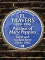 P.L. Travers 1899-1996 Author of Mary Poppins lived and worked here 1946-1962.jpg