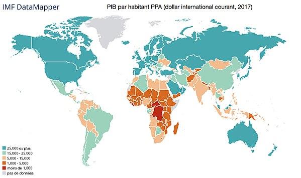 Liste Des Pays Par Pib Par Habitant Wikipedia