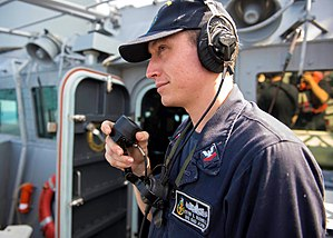 USS John S. McCain (DDG-56) - Image: PO2 (SW) Kevin Sayer Bushell, USN