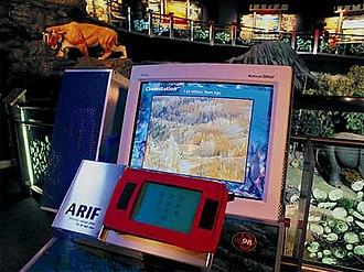 MessagePad - Petrosains uses Newton technology.