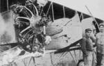 PSM V88 D062 Flack damaged engine of a Caudron G.4 - 1916.png