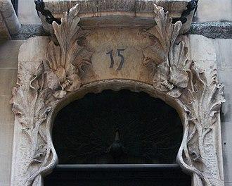 Casa del Pavo - Image: Paó a la casa del Pavo d'Alcoi