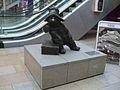 Paddington station Paddington Bear statue.JPG