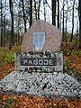 Pagojė (Anykščiai), paminklas partizanams.JPG