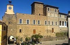 Palacio Farnese en Ischia di Castro
