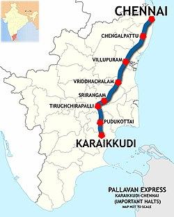 Pallavan Express (KKDI - MS) Route map.jpg