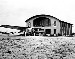 "Miami International Airport - Pan American World Airways (""Pan Am"")'s first terminal consisted of a single hangar. The airport was the base of Pan Am's overseas flights to Cuba, but fell into disuse when the airline switched to amphibious seaplanes at International Pan American Airport with the famous Pan American Clipper in the mid-1930s."
